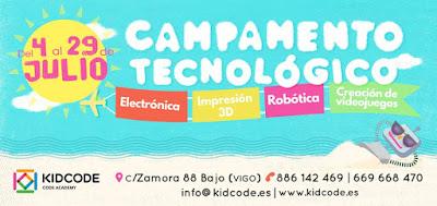 Campamento de Tegnológico en Vigo - KIDCODE