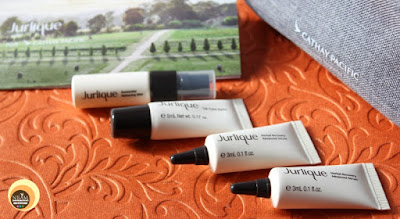 Cathay Pacific Skincare Samples- Jurlique , NBAM blog