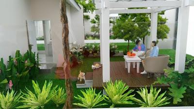 Halaman Belakang Rumah Orchid 4, 59/136 dan 4A, 59/160 Citra Indah City