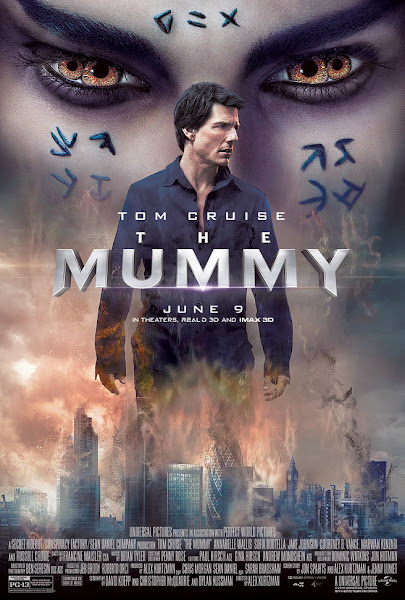 Poster of The Mummy 2017 Dual Audio [Hindi (Org) -English] 720p BluRay ESubs Download