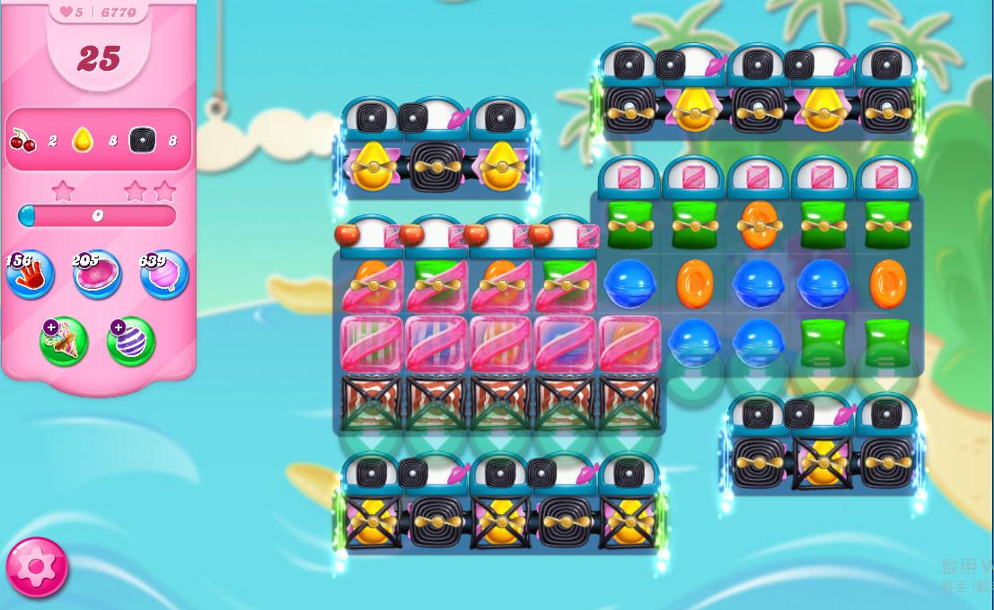 Candy Crush Saga level 6770