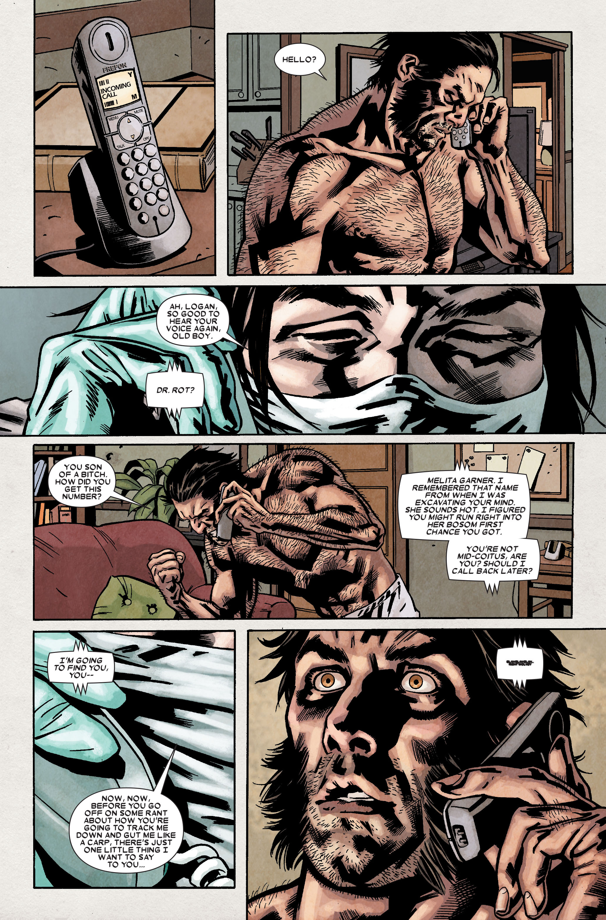 Read online Wolverine: Weapon X comic -  Issue #9 - 22