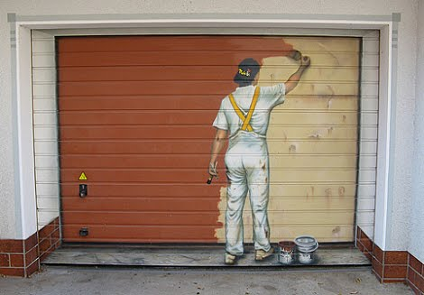 More Unusual Garage Doors