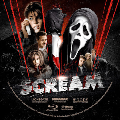 Label Bluray Scream
