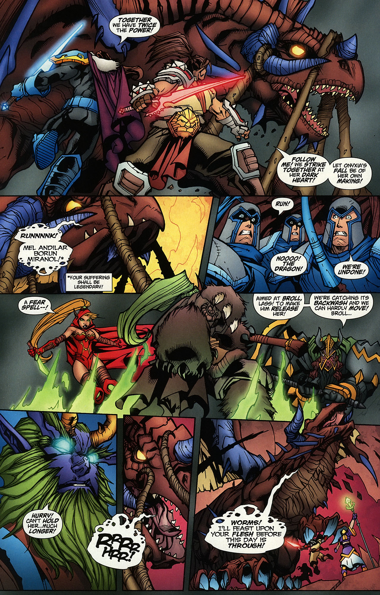 Read online World of Warcraft comic -  Issue #14 - 16