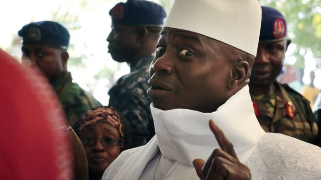 Gambia's Jammeh loses presidential election to Adamu Barrow