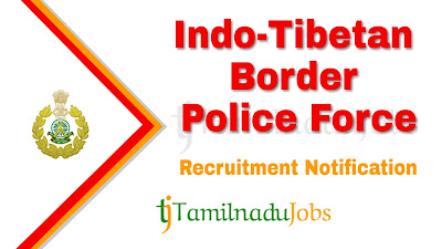 ITBP Recruitment 2020, ITBP Recruitment Notification 2020, central govt jobs, Latest ITBP recruitment update