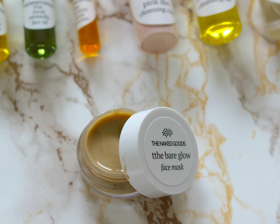 The Bare Glow Honey Face Mask
