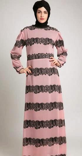 Contoh baju muslim modis untuk orang gemuk