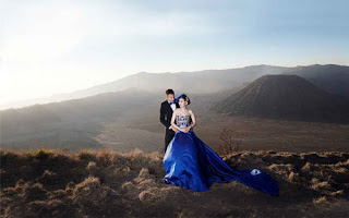 Pre-wedding di Gunung Bromo