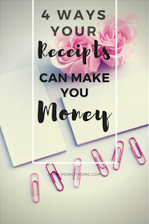 make money using your receipts