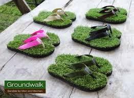 Diseño creativo de sandalias o chanclas.