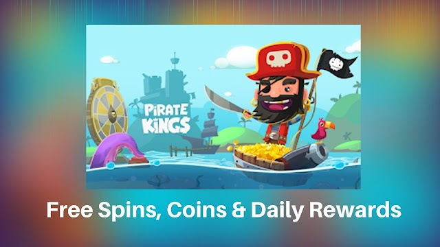 [November] Pirate Kings Free Spins Coins & Daily Rewards