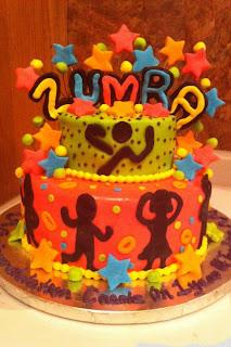 Jenn S Fun Cakes Zumba Cake