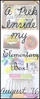 Schoolhouse Treasures Reviews August Elementary Box!