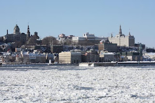 Old Quebec From The St. Lawrence.