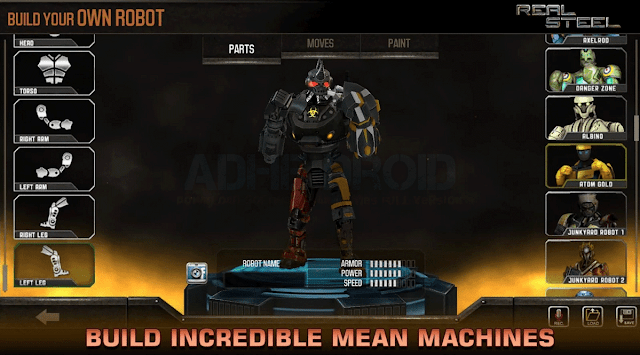 Real Steel HD Apk Original + Apk Full Unlocked + Data v1.25.2 for android