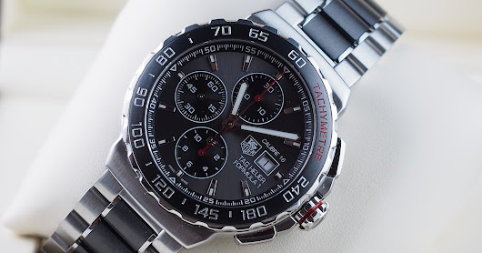 (FOR SALE/LNIB) TAG HEUER FORMULA1 CHRONOGRAPH CERAMIC CALIBRE 16