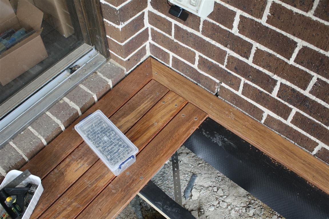 Diy Deck Flooring Tim And Tina 39s New Home Building Blog Redevelopment In