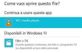 aprire mp4 windows 10
