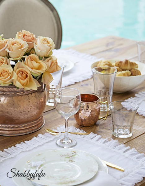 copper for fall entertaining