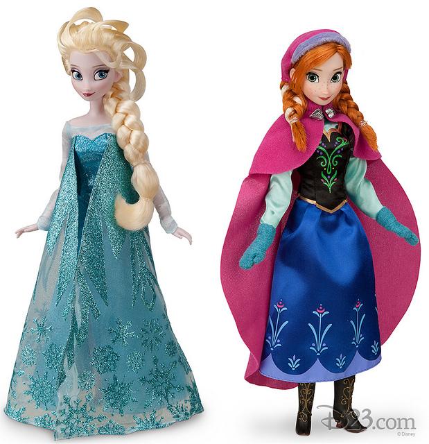 Mu Ecas De Disney Store De Anna Y Elsa Frozen