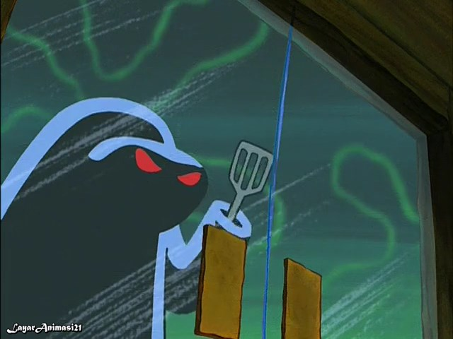 SpongeBob Season 2 Episode 16A - Graveyard Shift SD 480p Dub Indo