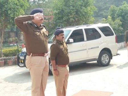 आईजी नैय्यर हसनैन पहुंचे नालंदा, अधिकारियों की साथ की समीक्षा बैठक