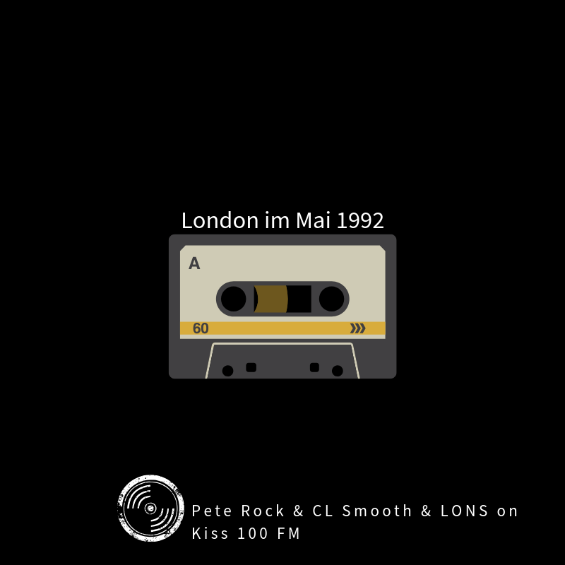 Pete Rock X CL Smooth X LONS bei Kiss 100 FM London im Mai 1992 | Musikgeschichten Mixtape