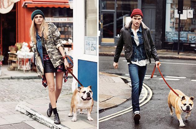 2fee3469ed9b Η καμπάνια Pepe Jeans Φθινόπωρο   Χειμώνας 2013-2014 φέρνει και πάλι την  Cara Delevingne στο προσκήνιο