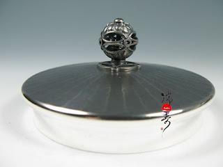 京都瑞鳳堂 銀壺藝術-古美立筋紋