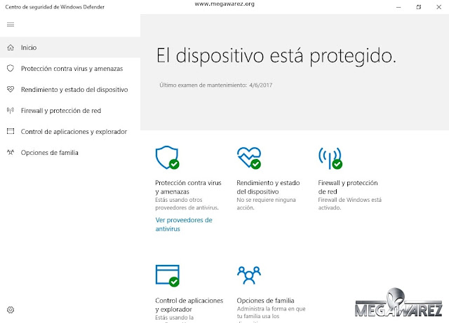 Windows 10 PRO Creators Update imagenes