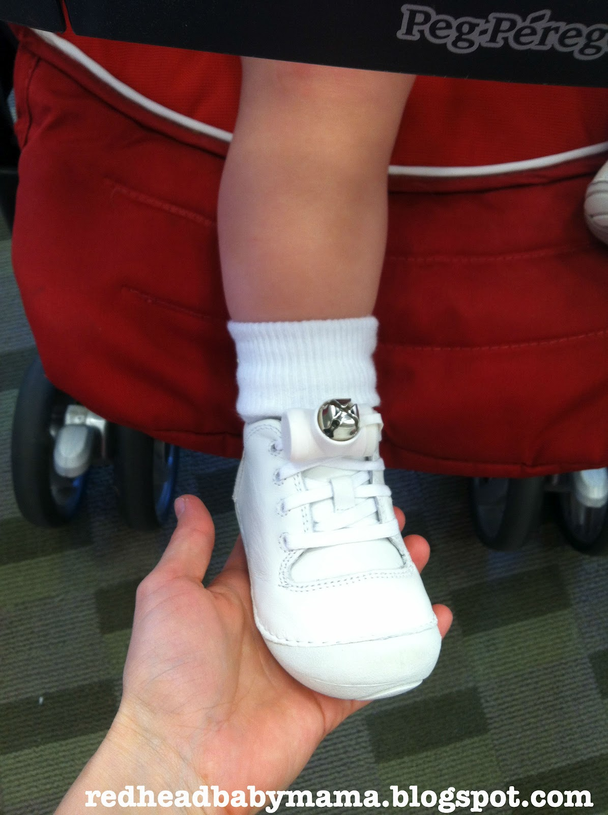 Baby's First Shoes - Redhead Baby Mama