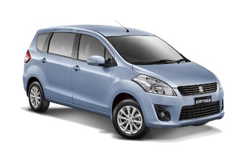 Suzuki Ertiga Serene Blue
