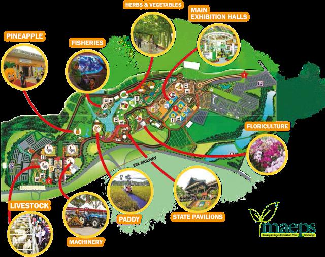 Maha 2016 Venue Map