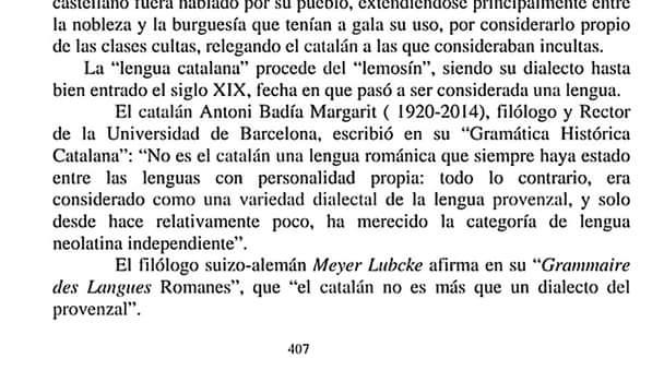 Meyer Lübcke, catalán, dialecto, provenzal, lemosín