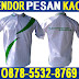 Konveksi Penjahit Kaos Oblong Sablon dan Poloshirt Bordir Murah di Surabaya