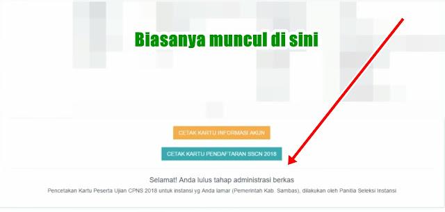 Cara Cetak Kartu Ujian Tes CPNS 2018 di SSCN.BKN