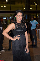 Wamiqa Gabbi in a sleeveless Black Designer Transparent Gown at 64th Jio Filmfare Awards South ~  Exclusive 044.JPG