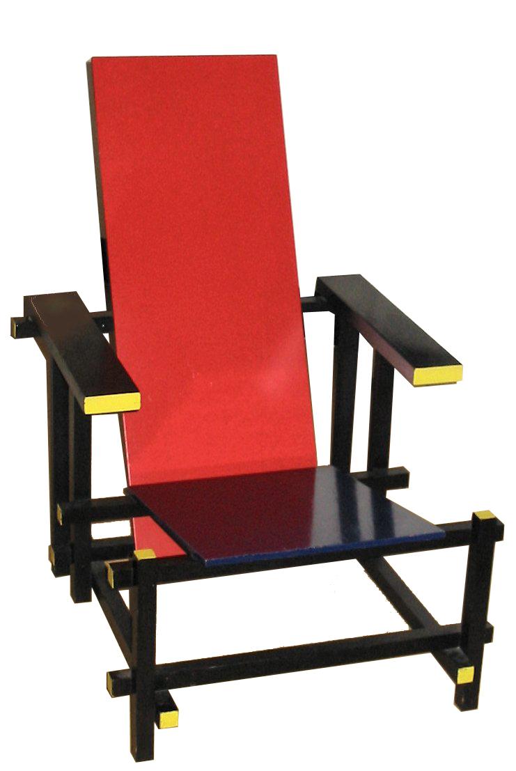 """de architectura"": April 2012Gerrit Rietveld Chair"