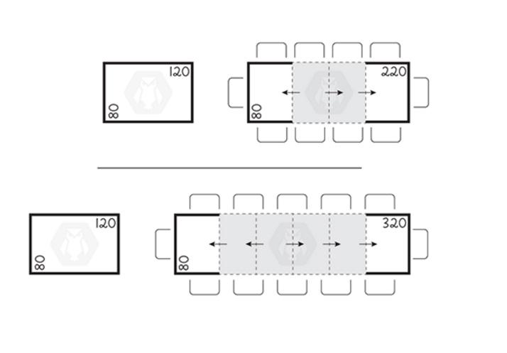 monolocale arredi indispensabili tavolini trasformabili