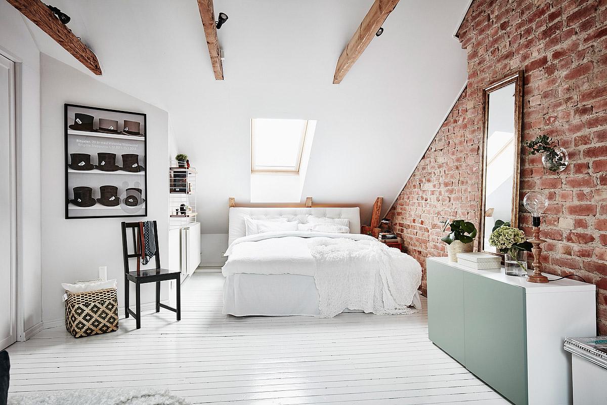 Romantyczna sypialnia na poddaszu czy prowansalska ...