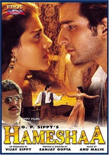 Poster of Hameshaa 1997 720p Hindi HDRip Full Movie Download