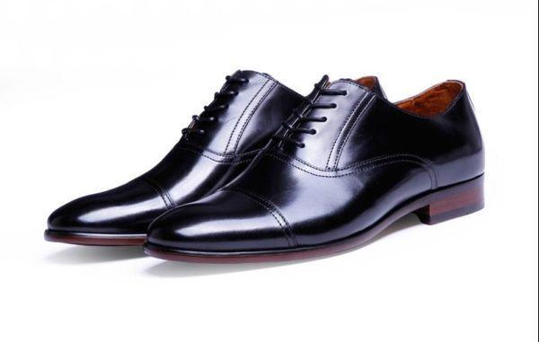 Desai Classic Men's Oxford Shoes, #001