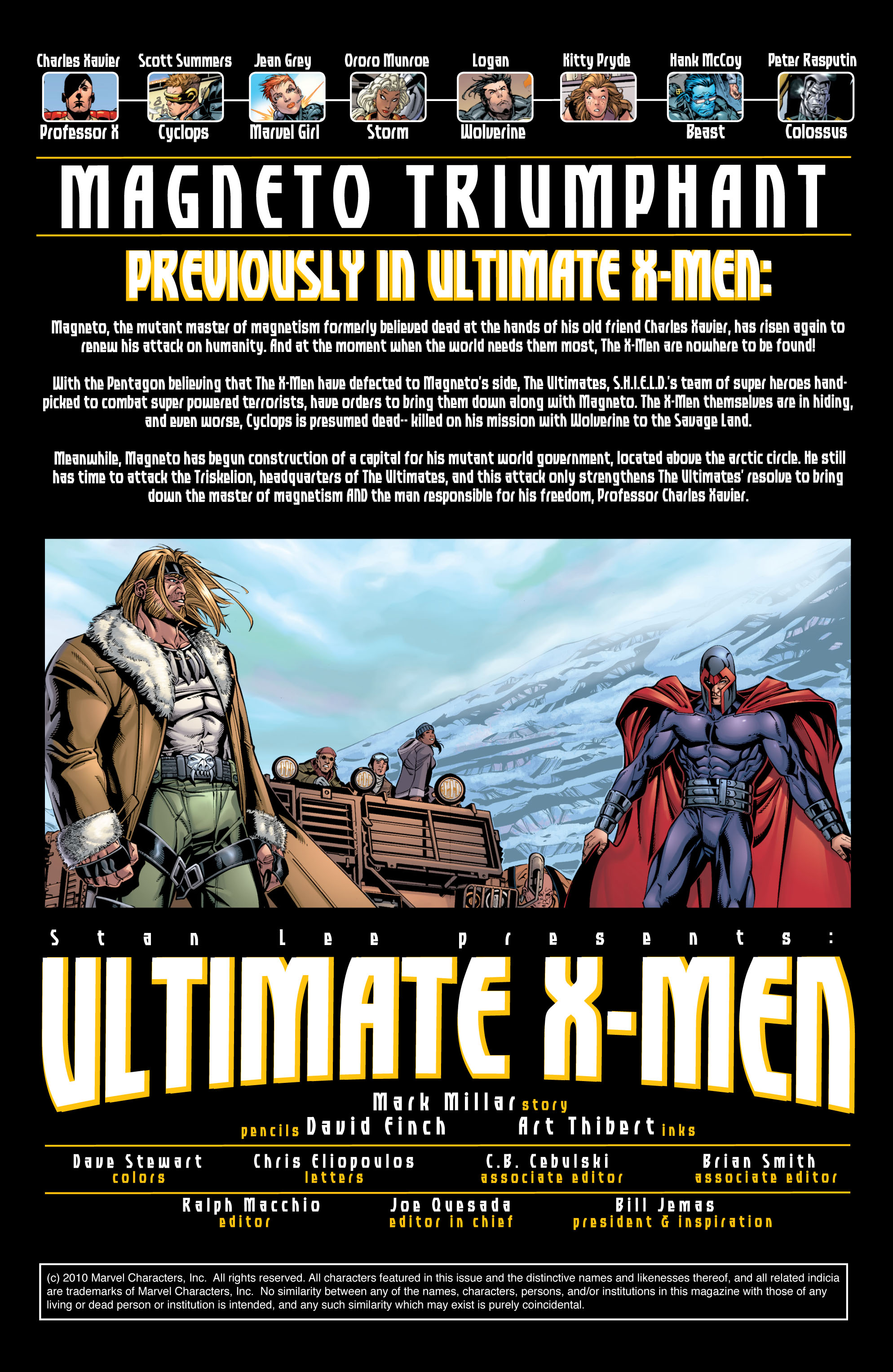 Read online Ultimate X-Men comic -  Issue #27 - 2