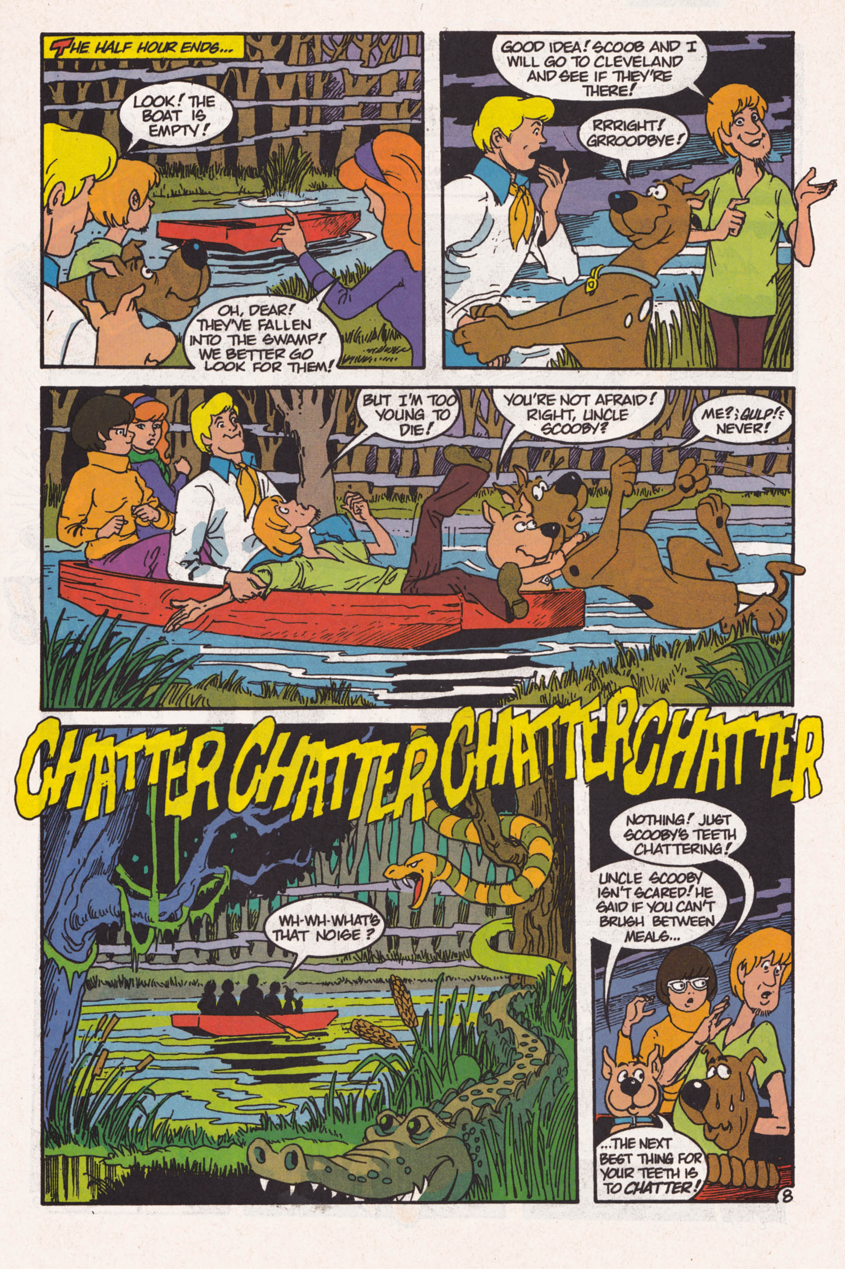 Read online Scooby-Doo (1995) comic -  Issue #1 - 9