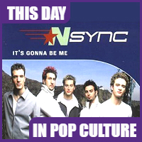 NSYNC's first #1 song was released on July 29, 2000.