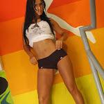 Andrea Rincon – Selena Spice – Sexy Top Blanco y Tanga Negra Foto 13