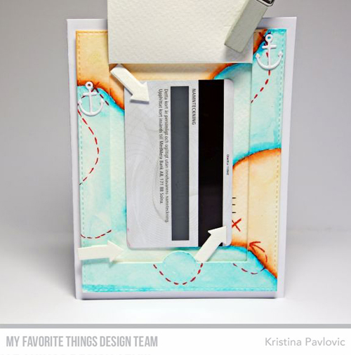 Handmade card from Kristina Pavlovic featuring products from My Favorite Things #mftstamps