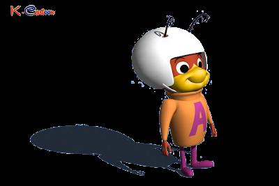 gambar HD kartun atom ant terbaru